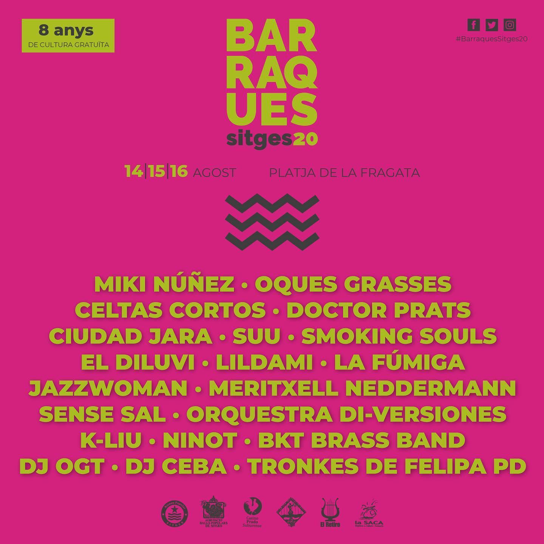 Barraques Sitges 2020