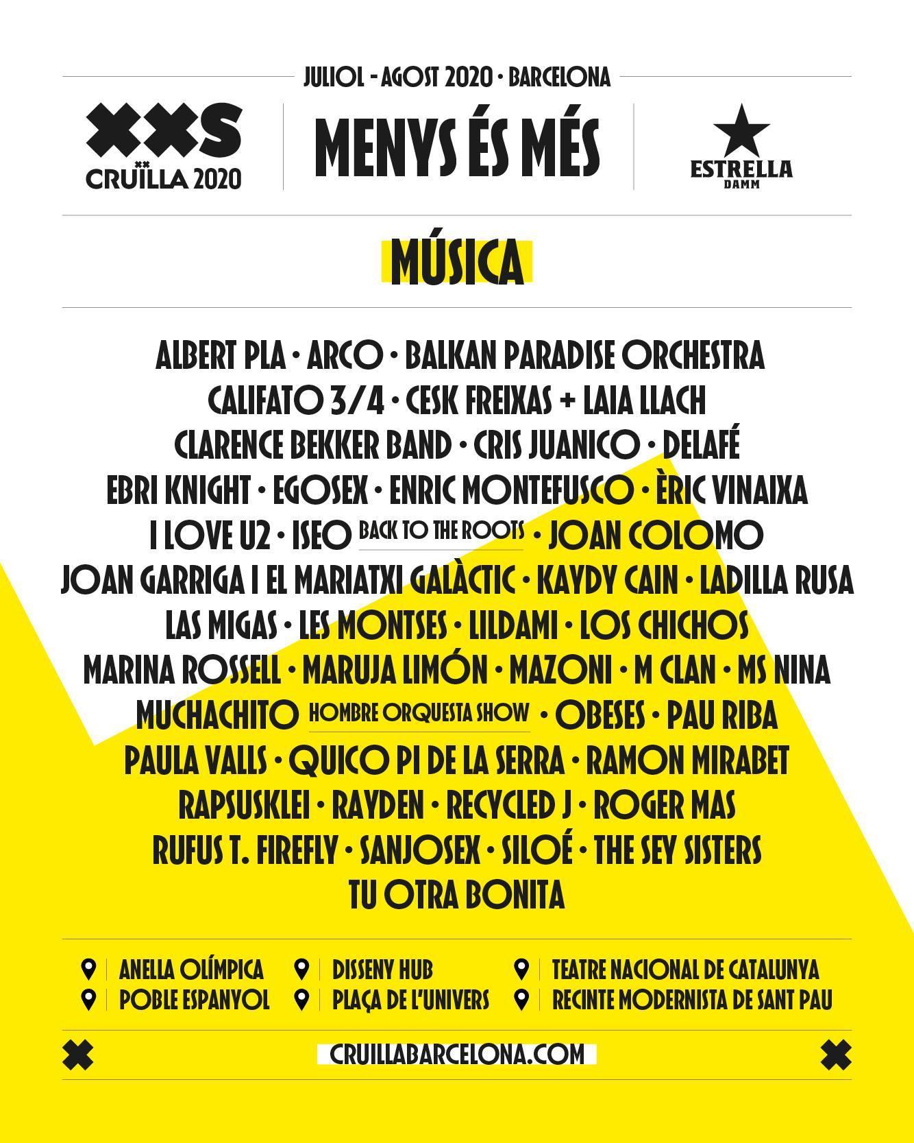 Cruïlla XXS - festivales.wiki