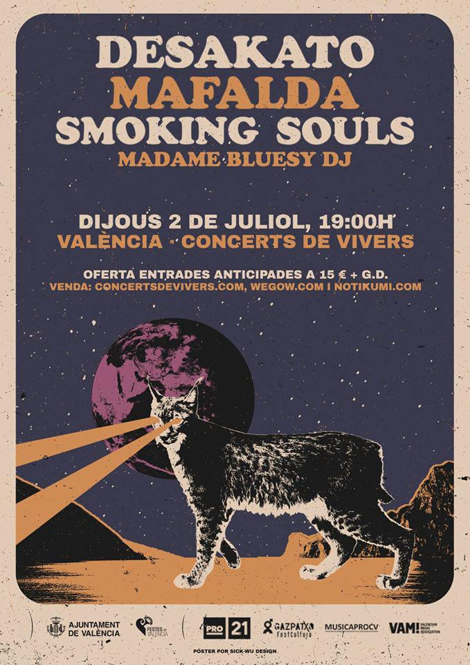 Desakato + Mafalda + Smoking Souls