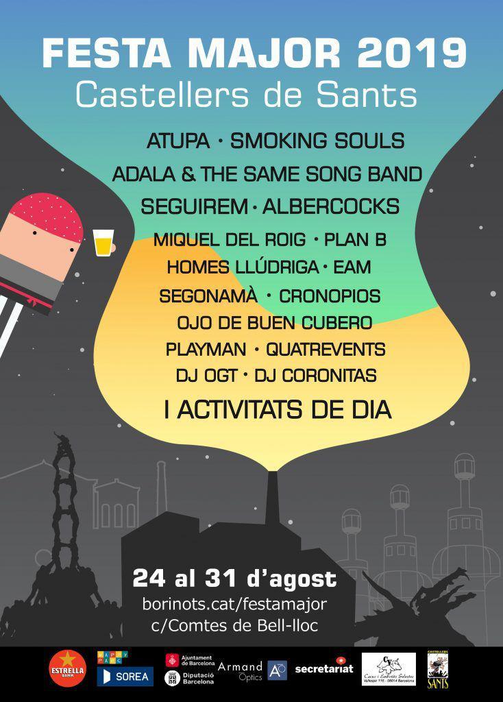 Festa major Castellers de Sants