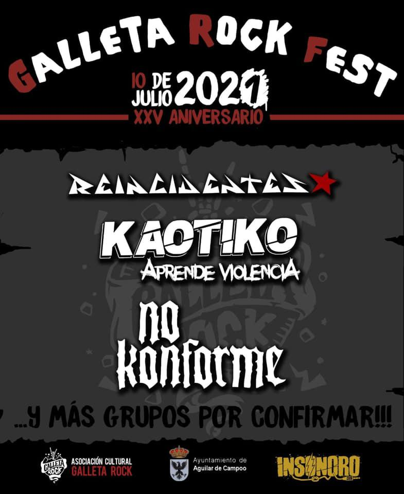 Galleta Rock 2020