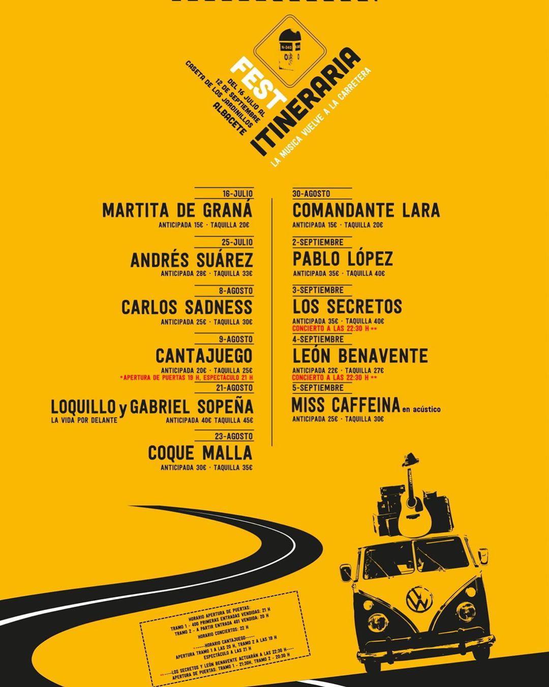Itineraria Fest Albacete