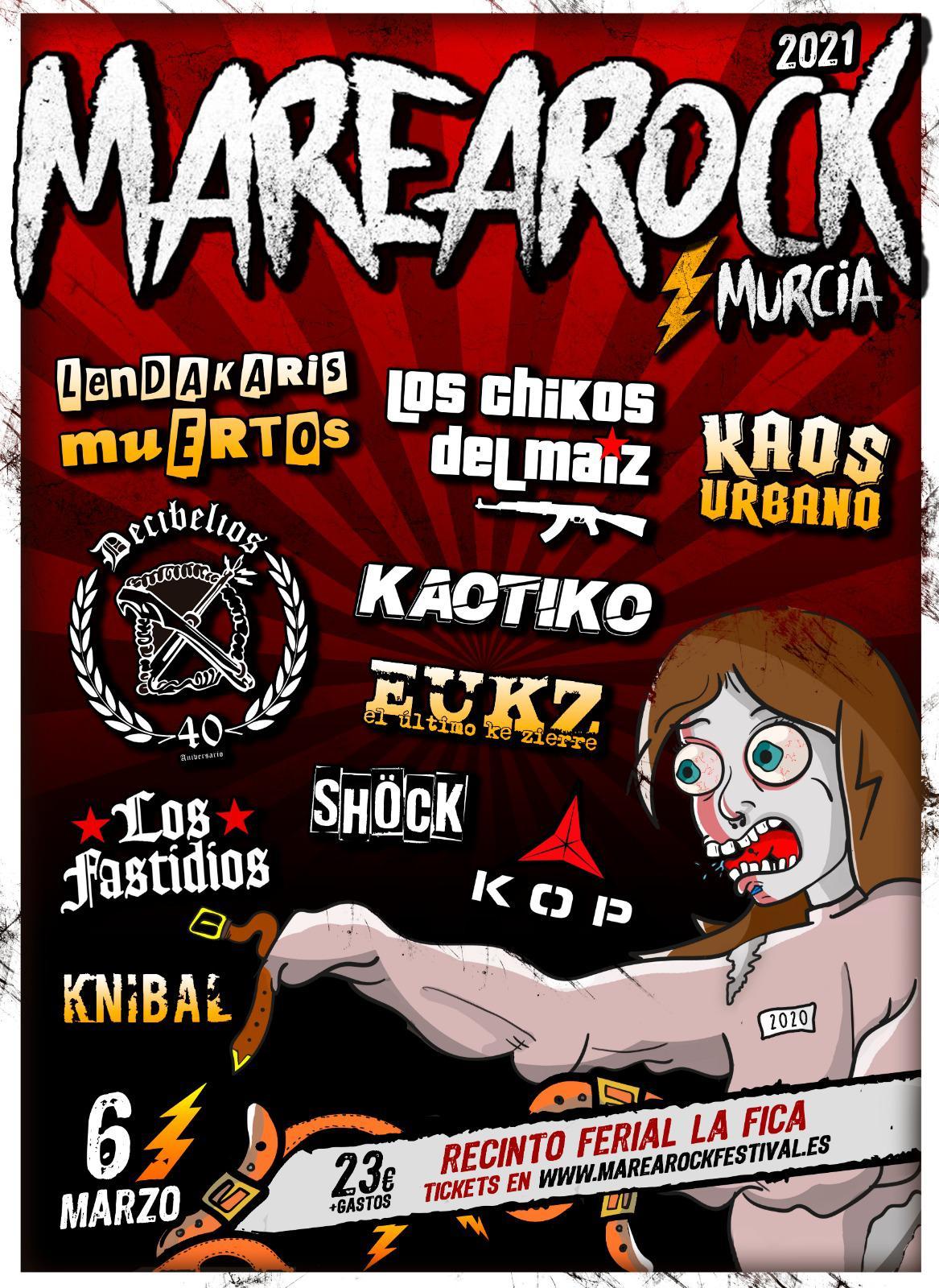Marearock Murcia 2020